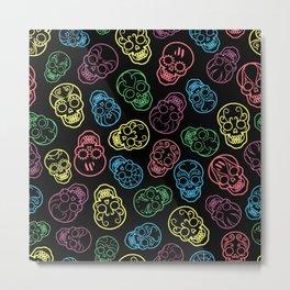 Dia De Los Muertos Metal Print