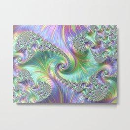 Fantastic factual fractal Metal Print