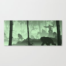 Apes Together Strong Canvas Print