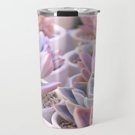 PASTEL SUCCULENTS Travel Mug