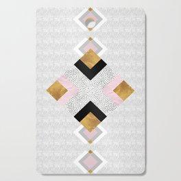 Rhombus geometric Cutting Board