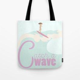 Catch a Wave 3 Tote Bag