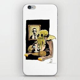 Cthulhu Taking Tea iPhone Skin