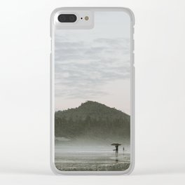 Dusk in Tofino Clear iPhone Case