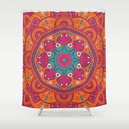 Colorful Mandala Pattern 017 Shower Curtain