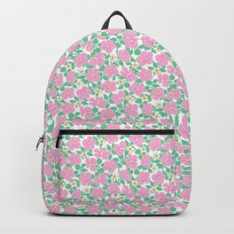 Hibiscus and Plumeria Backpack