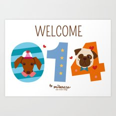 Welcome 014 Art Print