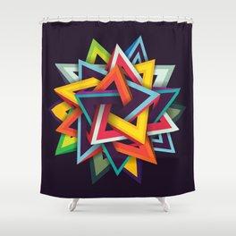 Endless Magen Shower Curtain