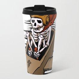 kamikaze  in flying coffin Travel Mug