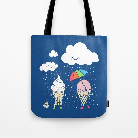 Cloudy With A Chance of Sprinkles Tote Bag