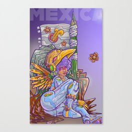 Mexica Canvas Print