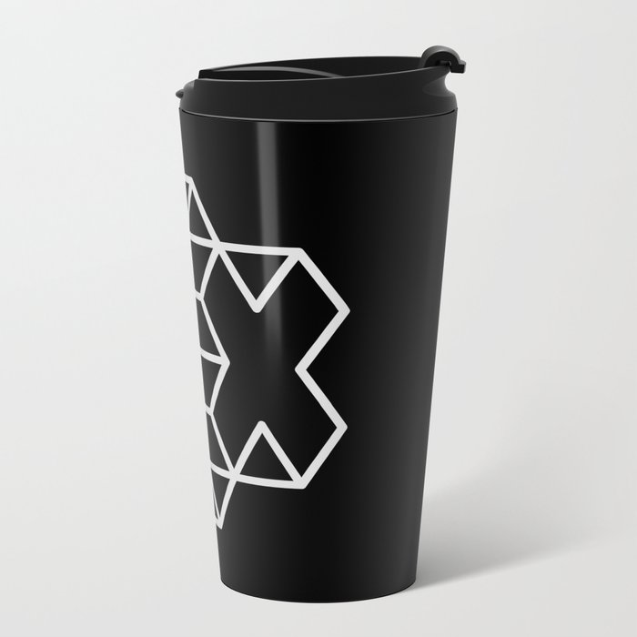 Positive Dice Metal Travel Mug