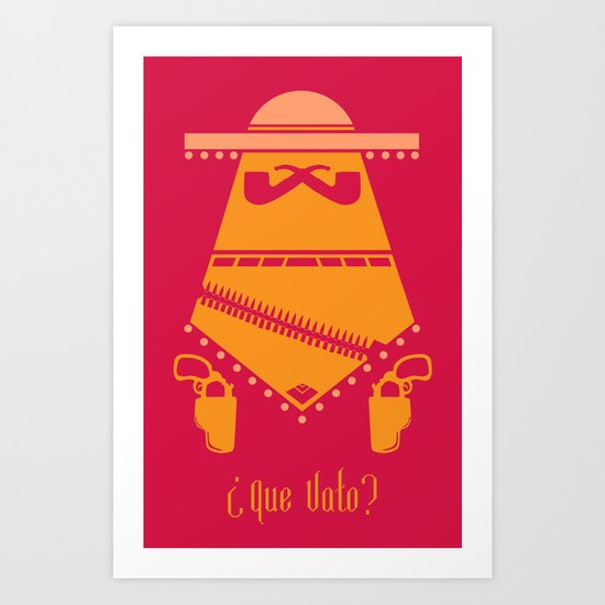 Vato Series 001. Art Print