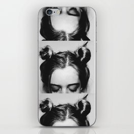 Space Buns iPhone Skin