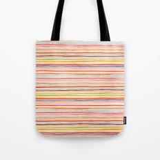 Robayre Watercolor Lines Tote Bag
