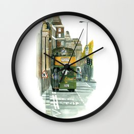 Harrods Tour Bus Wall Clock