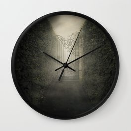 Forgotten alley Wall Clock