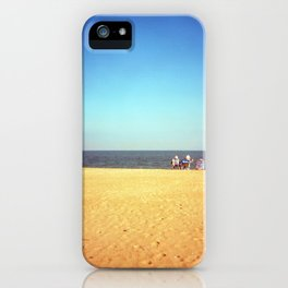 Three on the beach iPhone Case