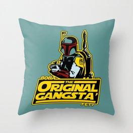 O.G. Boba Fett Throw Pillow