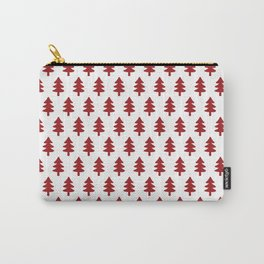 Hand drawn christmas trees Carry-All Pouch