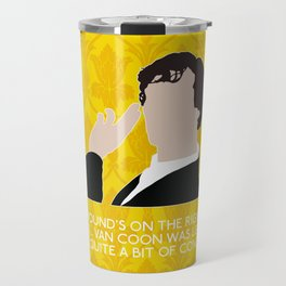 The Blind Banker - Sherlock Holmes Travel Mug