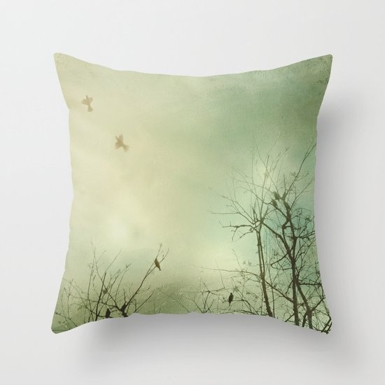 Fly Away With Me 2 Throw Pillow