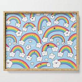 Rainbows Everywhere! Serving Tray
