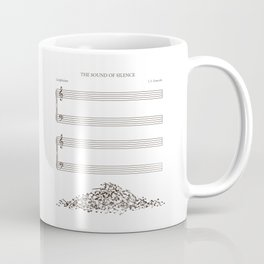 The Sound of Silence Coffee Mug