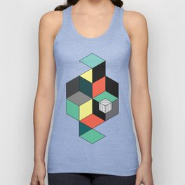 Abstract IV Unisex Tank Top