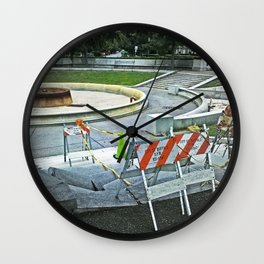 Nickel City Progress Wall Clock