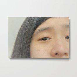 freckled 1 Metal Print