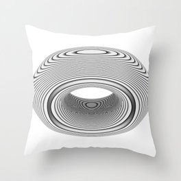 PsyDonut Throw Pillow