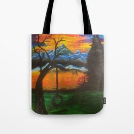lonely thinking Tote Bag