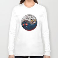 ying yang Long Sleeve T-shirts featuring ying yang by EPIK