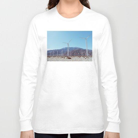 Palm Springs Windmills XI Long Sleeve T-shirt