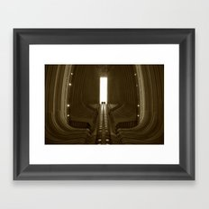Ribs Framed Art Print