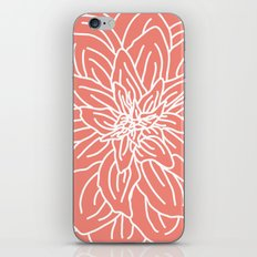 Abstract Flower Coral iPhone & iPod Skin