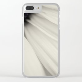 Petal Detail Clear iPhone Case