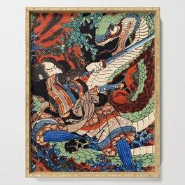 Ukiyo-e, Dragon Serving Tray