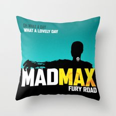 MADMAX: Fury Road Throw Pillow