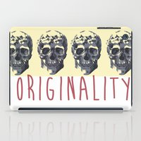 skulls iPad Cases featuring Skulls  by SofRusso