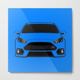 Ford Focus RS Metal Print