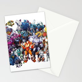 30 Days of Transformers - More Than Meets The Eye cast Stationery Cards