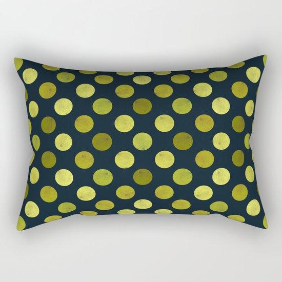 Watercolor Dots Pattern V Rectangular Pillow