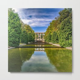 Reflecting Pools Metal Print