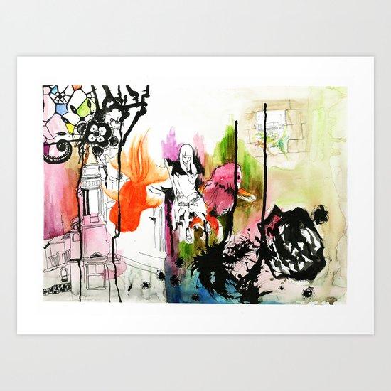 Vivid. Art Print