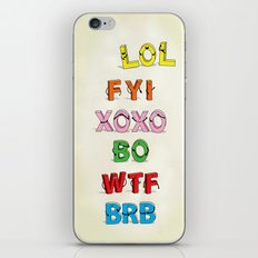 Some Internet Abreviations iPhone & iPod Skin