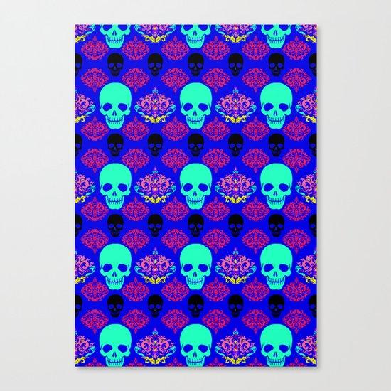 Skull pattern I Canvas Print