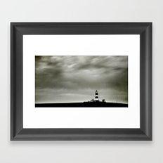 Happisburgh Lighthouse, Norfolk Framed Art Print