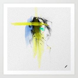 Bartira's   Olhar 2 Art Print